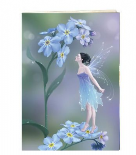 Forget-Me-Not Fairy Greeting Card | Tree-Free Greetings®